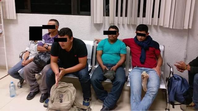 Marina, militares y PF aseguran migrantes; exceden facultades