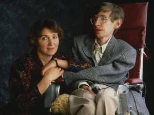 Stephen Hawking y Jane Wilde