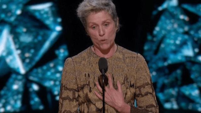 Frances McDorman recibe el premio a Mejor Actriz