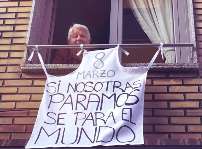 Primera Huelga Feminista en España por Día de la Mujer