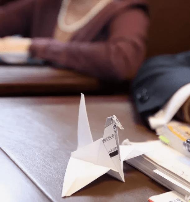 Diputada demuestra su talento en origami en plena Asamblea Legislativa