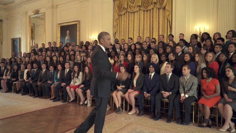 falta diversidad casa blanca trump becarios obama