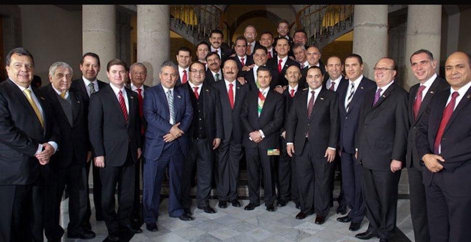 Gobernadores PRI Irregularidades Dinero Público ASF