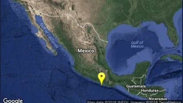 Sismo de 5.5 en Pinotepa Nacional