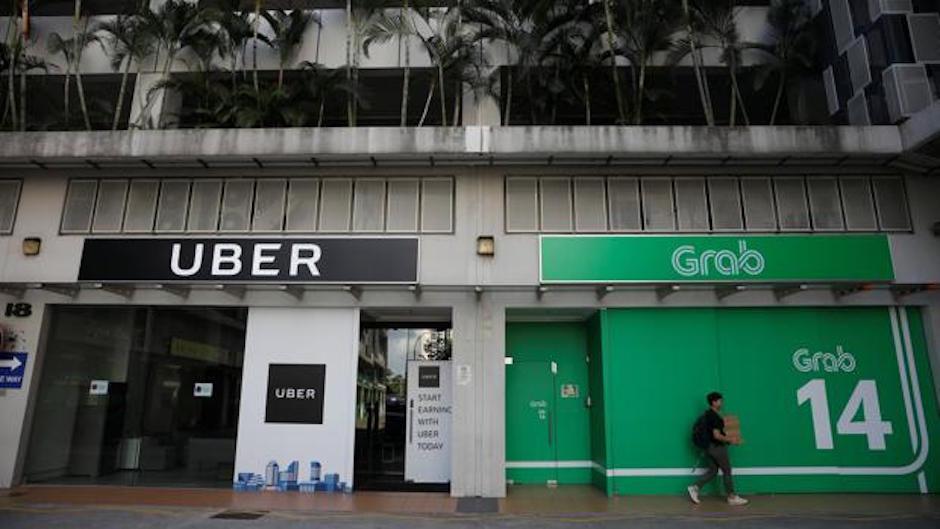 Uber se retira sureste asiático vende compañía a Grab