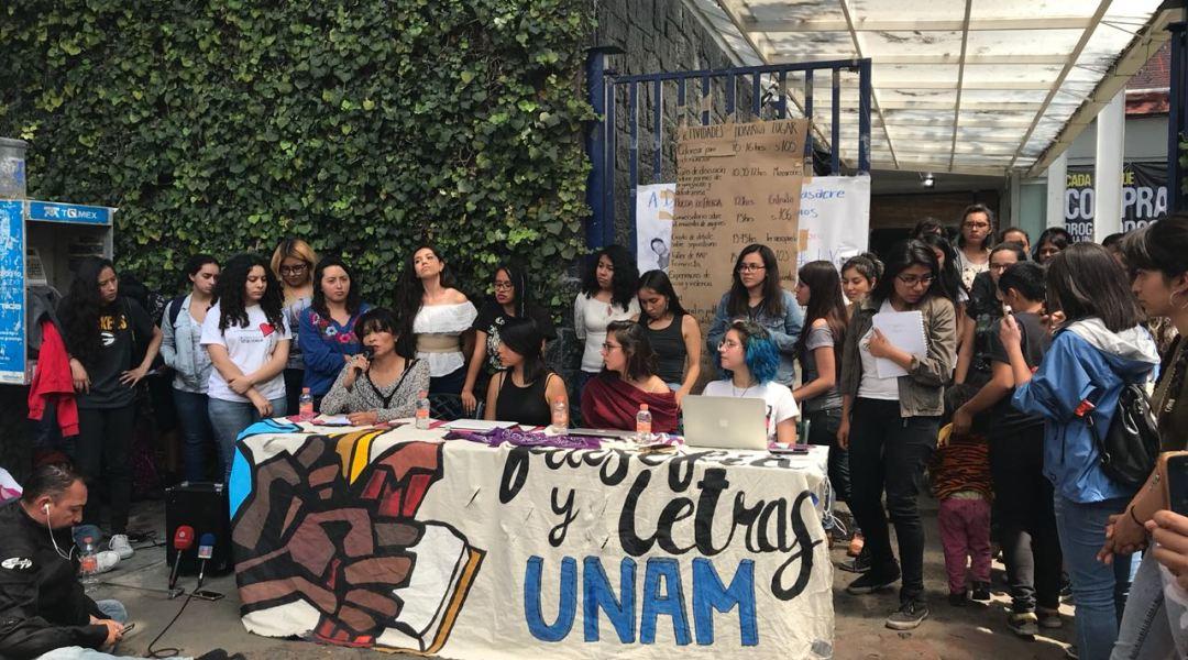 Testimonios de acoso y denuncias en FFyL en paro feminista