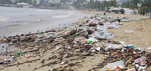 Estas son las 10 playas más contaminadas de México