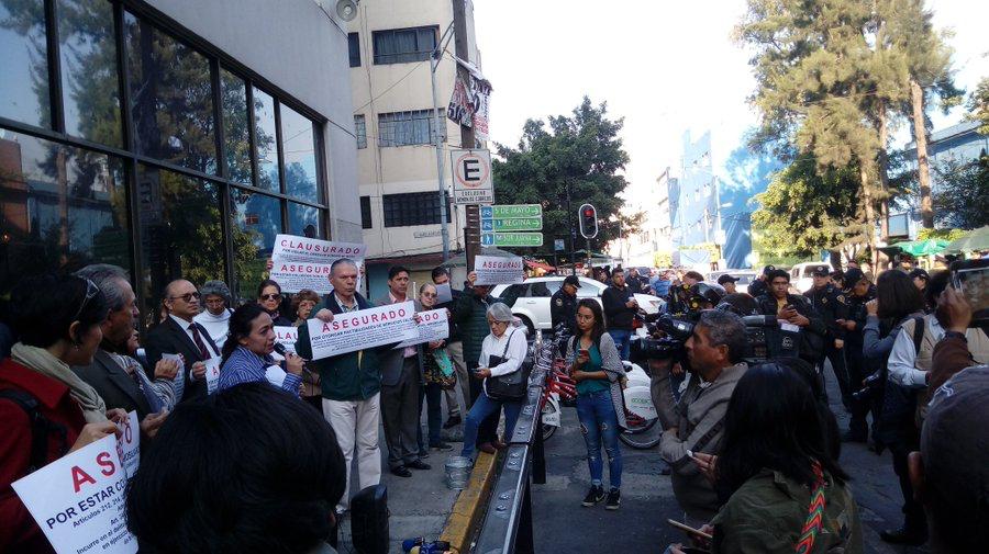 vecinos condesa protesta agua roma hipodromo