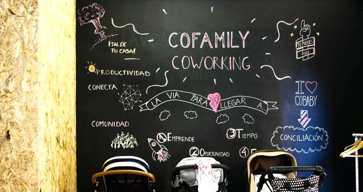 Coworkings familiares: un espacio para papás y mamás freelance y sus bebés