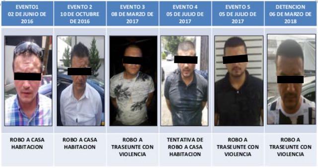 En CDMX la Policía ha detenido a 18 colombianos en 2018