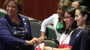 Diputadas donan a la Cruz Roja