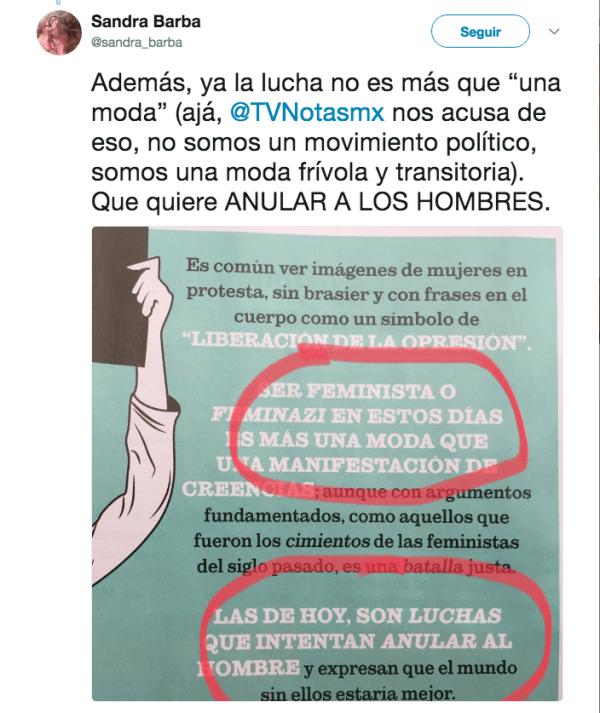 Machismo TvNotas Feminazis especial mujeres feminismo
