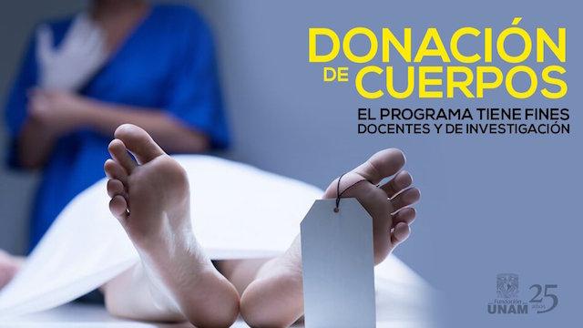 Donación de Cuerpos UNAM