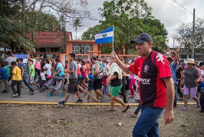 Gendarmería reforzará frontera sur tras paso de caravana migrante