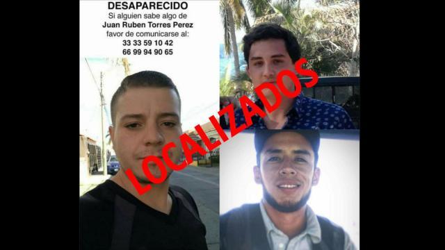 Jóvenes de Jalisco desaparecidos ya fueron localizados