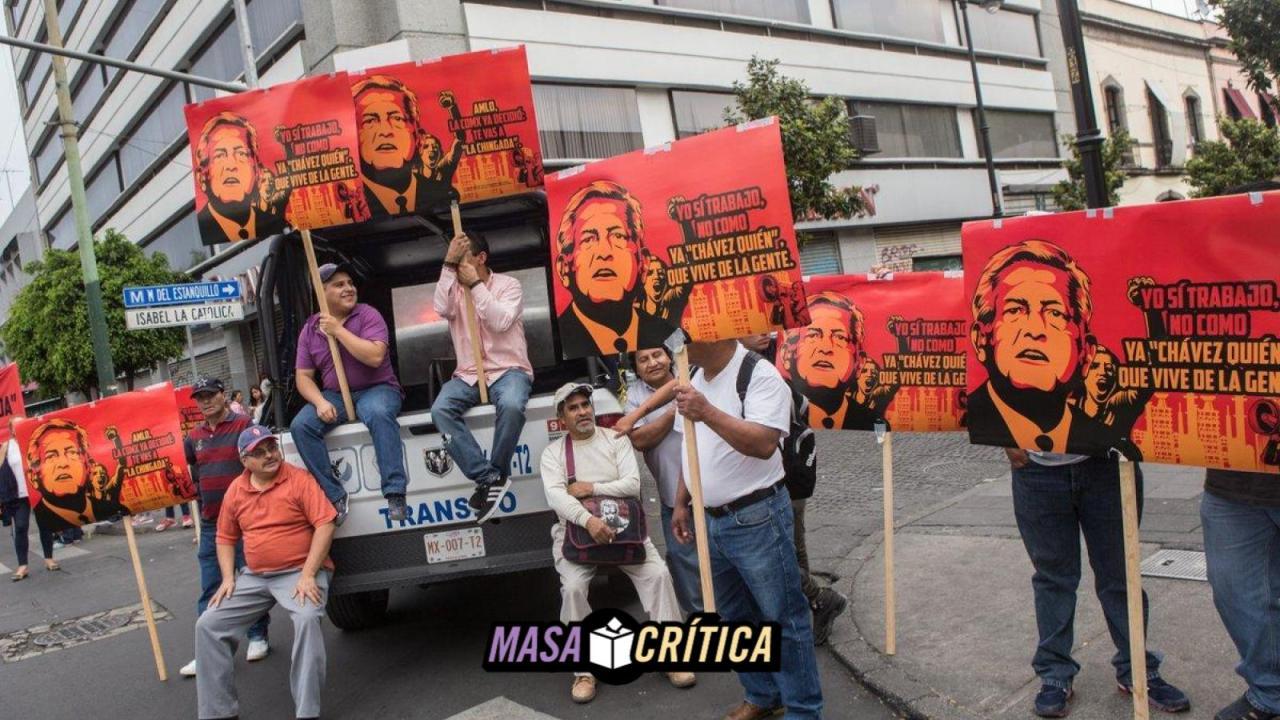 Sindicatos del gobierno de CDMX obligan a marchar contra AMLO