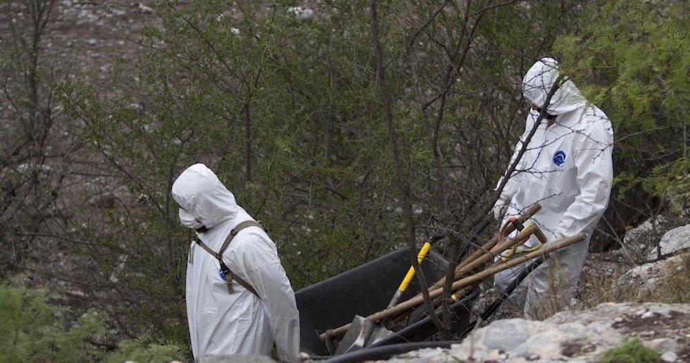Encuentran 13 cuerpos en 8 fosas en Zacatecas