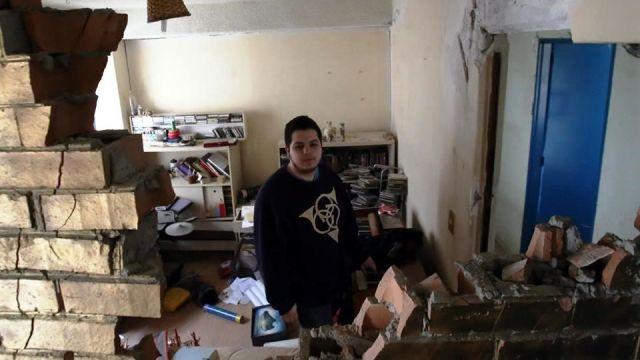 Damnificados regresan a sus casas... las encuentran saqueadas