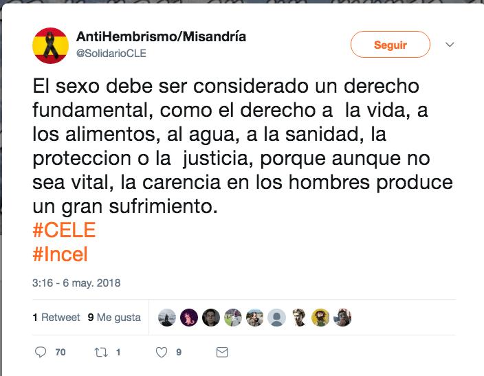 Movimiento machista incel español machismo violación