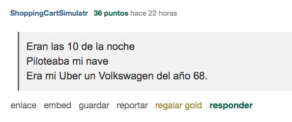Historias Raras Extrañas Uber Reddit Mexico CDMX