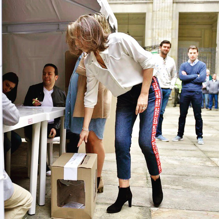 Tutina Santos Primera Dama Jeans Fake News Votación