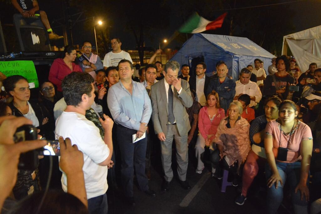 Amieva Damnificados Multifamiliar Calzada Tlalpan