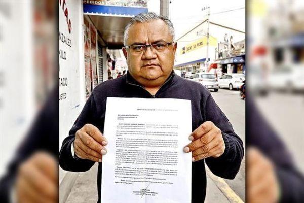 Cornejo con la denuncia a agentes del MP por su camioneta