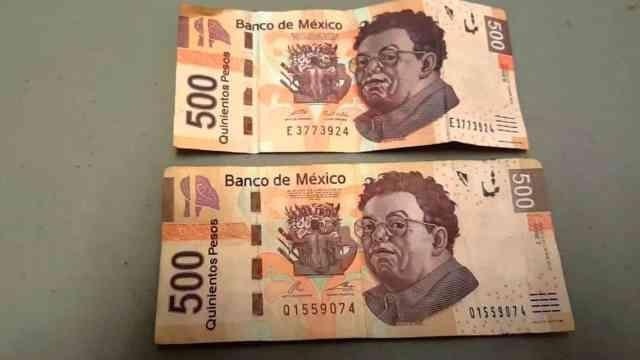 Taller hacía un tercio de los billetes falsos de la CDMX