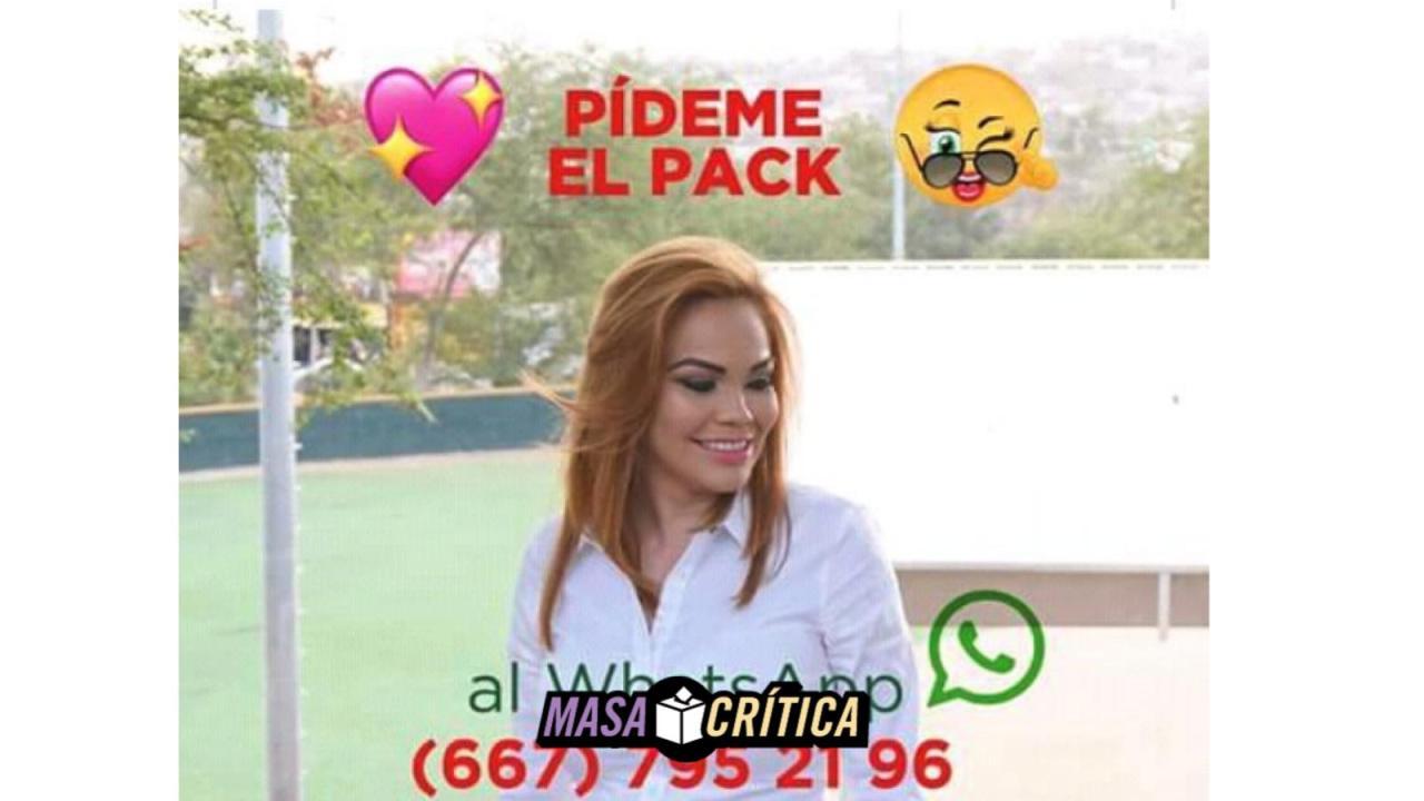 Sinaloa PRI Paola Garate WhatsApp Pack