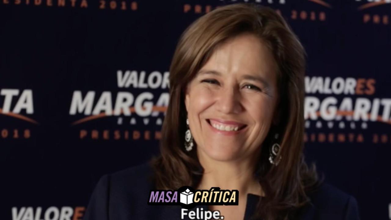 Zavala explica por qué renunció a su candidatura en un video