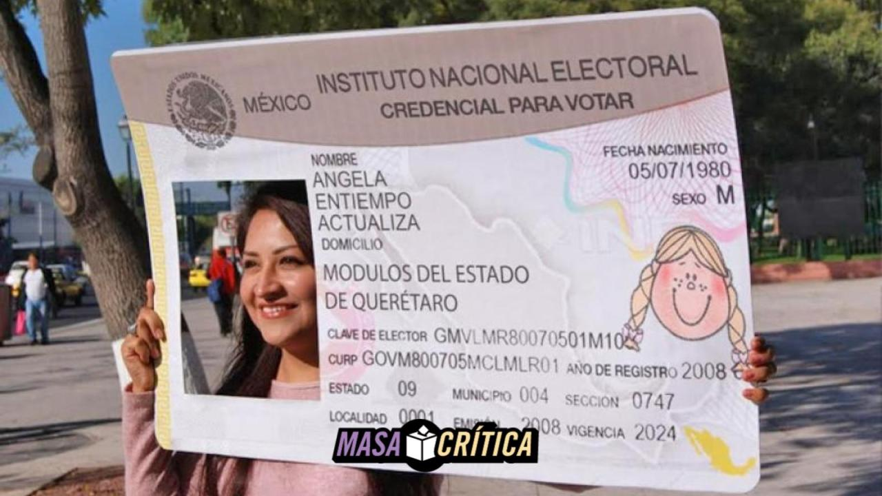 Si Perdiste Tu Credencial Del Ine Todavía Puedes Votar Sólo