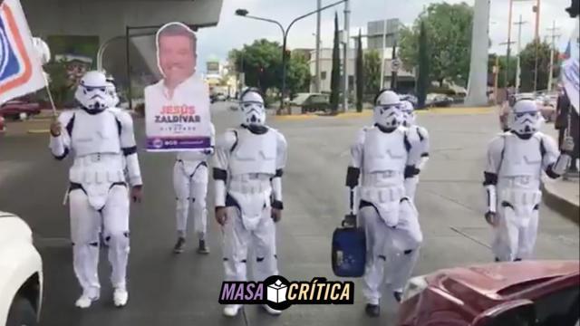 El PAN utiliza Stormtroopers para campaña de diputados