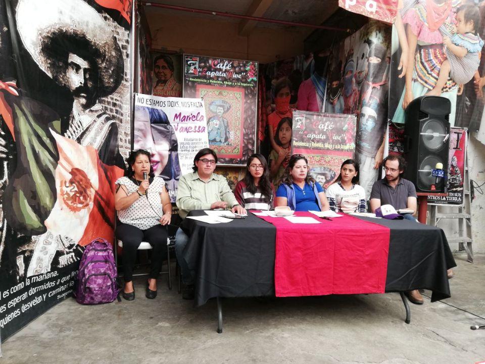 Conferencia de prensa sobre caso Mariela Vanessa a un mes de su desaparición