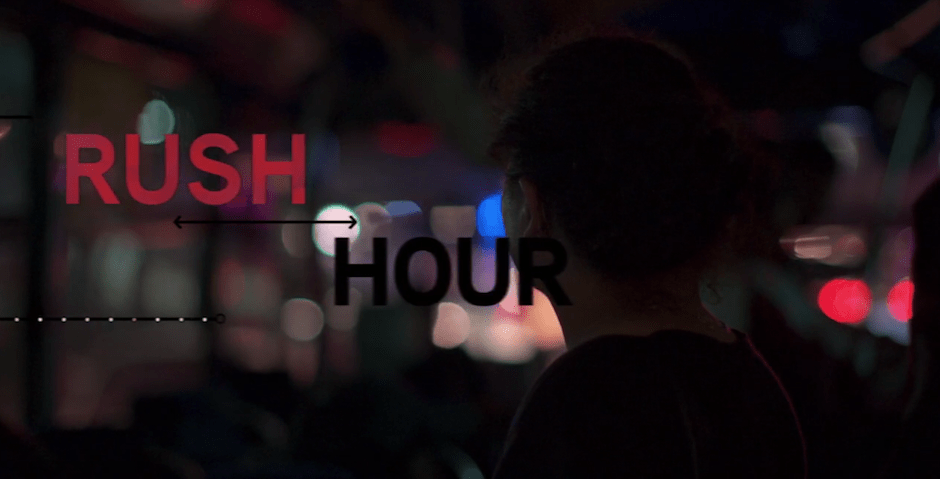 'Rush Hour' y la crisis existencial por el transporte en las ciudades