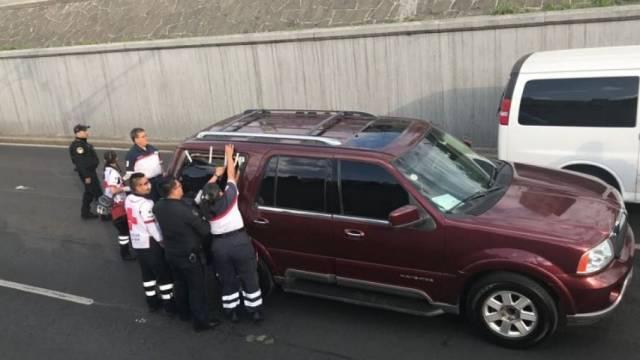 Ejecutan en pleno Viaducto a extranjero secuestrado minutos antes