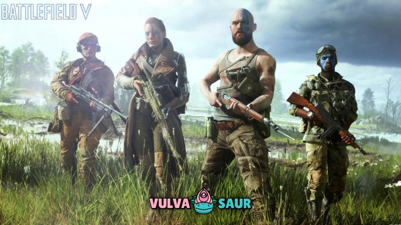 #Vulvasaur: se quejan de que hay mujeres en Battlefield V
