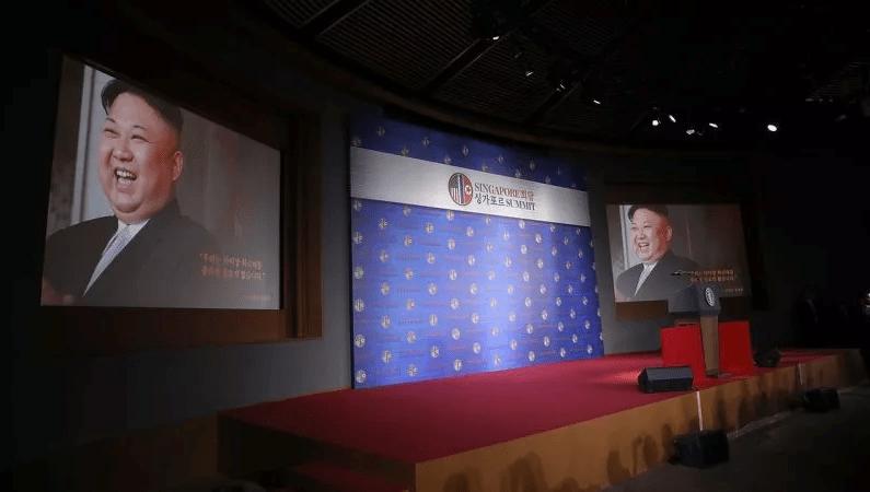 Trump Trailer Película Singapur Corea del Norte