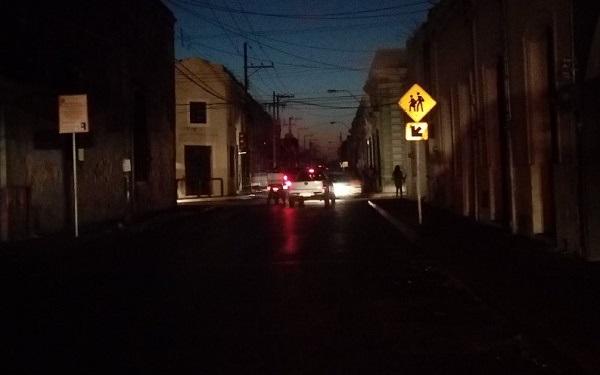 Falta de gas produce apagones en el sur de México