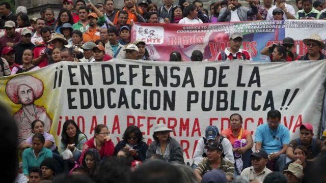 La CNTE está en CDMX, ¿pero cuál es su historia y por qué protestan?