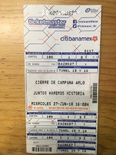 AMLOFest Boleto Cronica Belinda Azteca AMLO