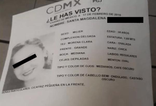 Pareja de Santa Magdalena, teniente enfermera, es procesado por su feminicidio