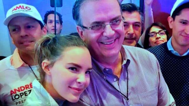 Belinda AMLO Ebrard Felicitación Canciller Twitter