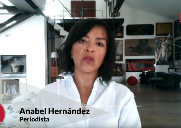 Anabel Hernández, Aristegui Noticias, Enrique Alfaro
