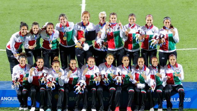 Selección Mexicana, Femenil, Barranquilla