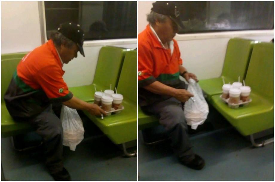 ¿Y qué pasó con el viejito del metro y los cafés?