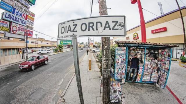 Piden cambiar calles Díaz Ordaz y Echeverría a 50 años de 68