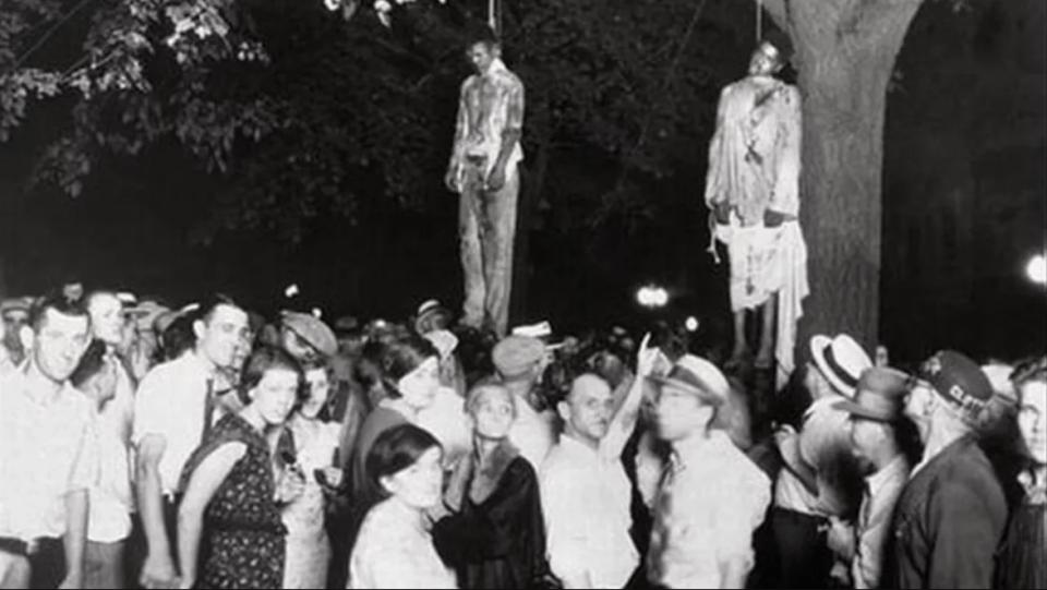 Linchamiento en Indiana en 1930