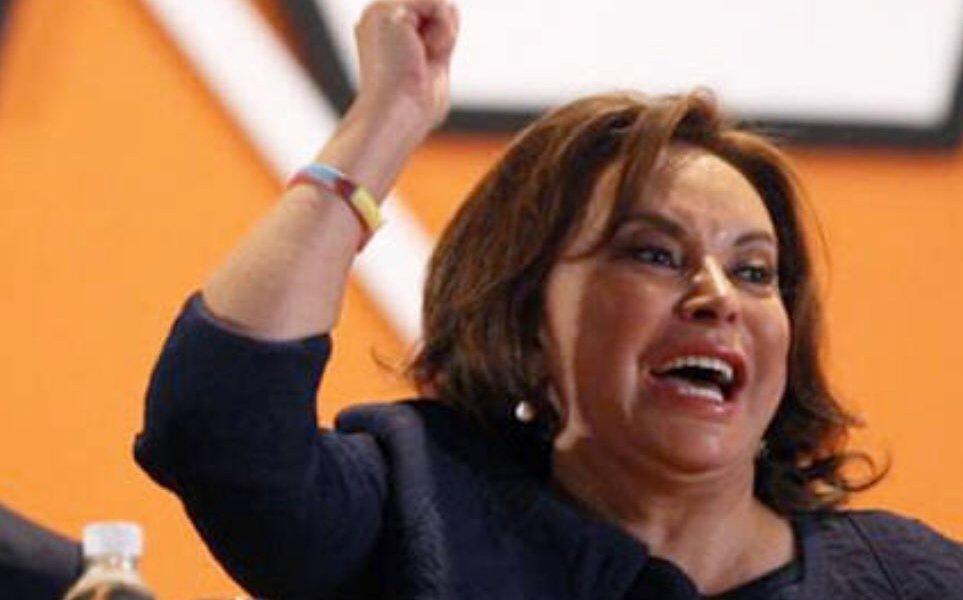 Elba Esther Gordillo salió libre esta madrugada