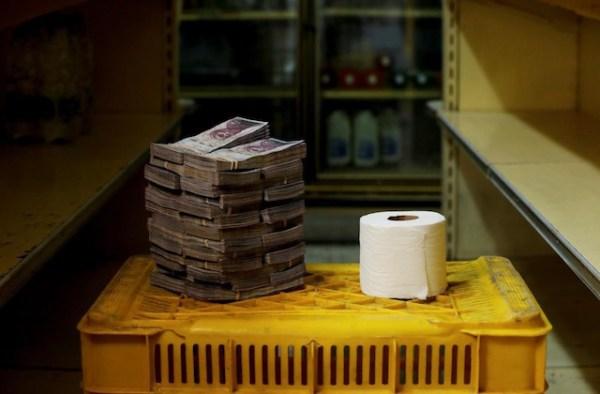 Venezuela precio papel de baño
