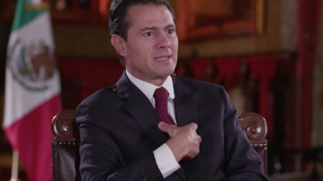 Peña Nieto, Gobierno, Presidencia
